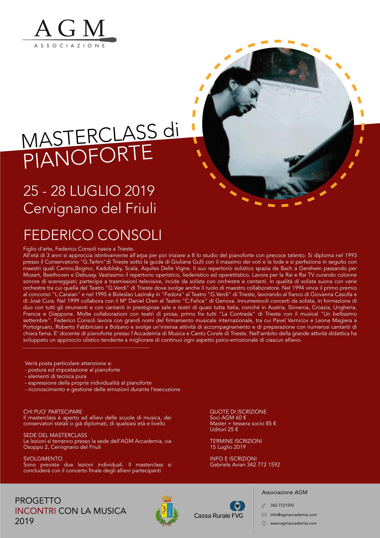 Master piano 2019 Federico Consoli